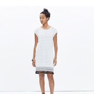 Madwell Scatterblock Tassel dress